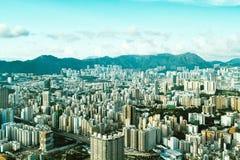 W centrum Hong Kong przy dniem Zdjęcie Stock
