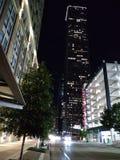 w centrum Houston zdjęcie stock