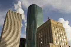 w centrum Houston Zdjęcia Stock