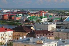 W centrum i Tatar ugoda kazan Russia Zdjęcia Stock