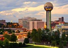W centrum Knoxville fotografia royalty free