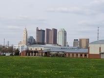 W centrum Kolumb Ohio fotografia stock