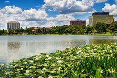 W centrum Lakeland, Floryda Fotografia Royalty Free
