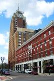 W centrum Lansing, Michigan architektura zdjęcie stock