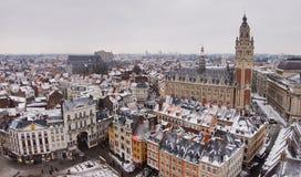 w centrum Lille Zdjęcie Stock