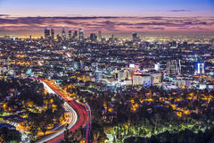 W centrum Los Angeles obrazy royalty free