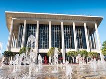 W centrum Los Angeles Dorothy Chandler pawilon & Muzyczny centrum Obrazy Royalty Free
