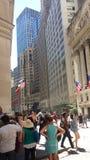 W centrum Manhattan Nowy Jork Obrazy Royalty Free