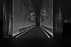 W centrum Manhattan world trade center Zdjęcie Stock