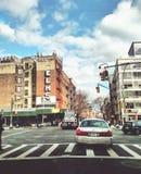 w centrum Manhattanu Zdjęcie Royalty Free
