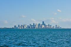 w centrum Miami Fotografia Stock