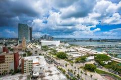 w centrum Miami Zdjęcie Royalty Free
