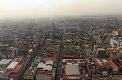 w centrum miasta Meksyk Zdjęcie Royalty Free