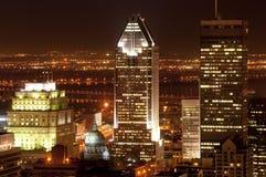 w centrum Montreal Zdjęcia Royalty Free