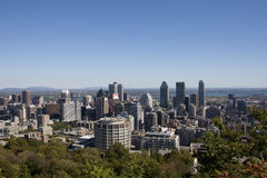 w centrum Montreal Obrazy Stock