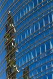 W centrum niebo cyklina zdjęcie royalty free