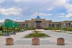 W centrum Nursultan zdjęcie royalty free