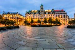 W centrum Oslo obrazy royalty free