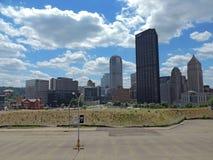 w centrum Pittsburgh Fotografia Stock