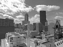 W centrum Pittsburgh linia horyzontu Fotografia Stock