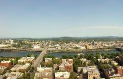w centrum Portland Oregon fotografia stock