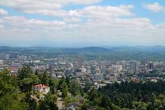 W centrum Portlandzki Oregon zdjęcia stock