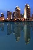 w centrum reflectio diego San Zdjęcie Royalty Free