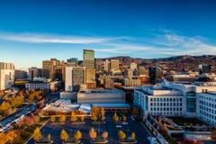 W centrum Salt Lake City, Utah Obraz Royalty Free