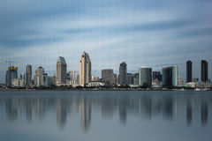 W centrum San Diego, Kalifornia Zdjęcia Royalty Free