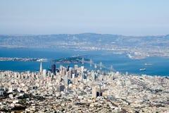 W centrum San Fransisco zdjęcia stock