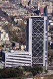 w centrum Santiago v fotografia stock