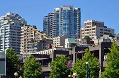 w centrum Seattle Fotografia Stock