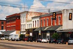 W centrum Selma, Alabama fotografia royalty free