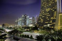 W centrum Singapur zdjęcia royalty free