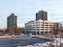 W centrum Syracuse, Nowy Jork Fotografia Stock