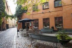 W centrum Sztokholm Zdjęcie Royalty Free