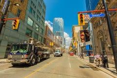 W centrum Toronto miasto Obraz Stock