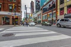 W centrum Toronto miasto Zdjęcia Royalty Free