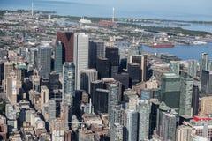 W centrum Toronto Przeglądać od powietrza Obrazy Royalty Free