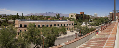 W centrum Tucson Arizona Fotografia Royalty Free