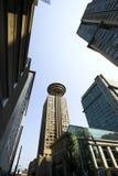 w centrum Vancouver Obrazy Stock