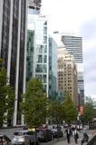 w centrum Vancouver Zdjęcia Stock
