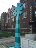W centrum wyrażenia w Stamford śródmieściu w Connecticut zdjęcia stock