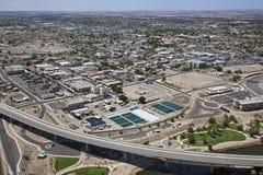 W centrum Yuma, Arizona Zdjęcia Stock