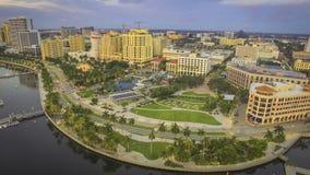 W centrum Zachodni palm beach Obrazy Royalty Free