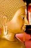 W chiangMai Buddha Złota Statua, TH. Obraz Royalty Free