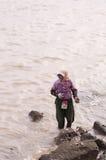 W Chiny kobieta pracownik Fotografia Stock