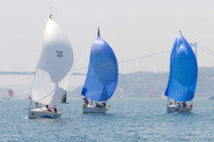 W Collection Sailing Cup Bosphorus 2011 Royalty Free Stock Images