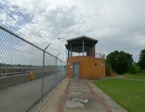 W d Замок и запруда Mayo на наблюдательной вышке Рекы Арканзас Стоковая Фотография RF
