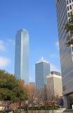 W Dallas różny stylowy nowożytny budynek Obraz Royalty Free